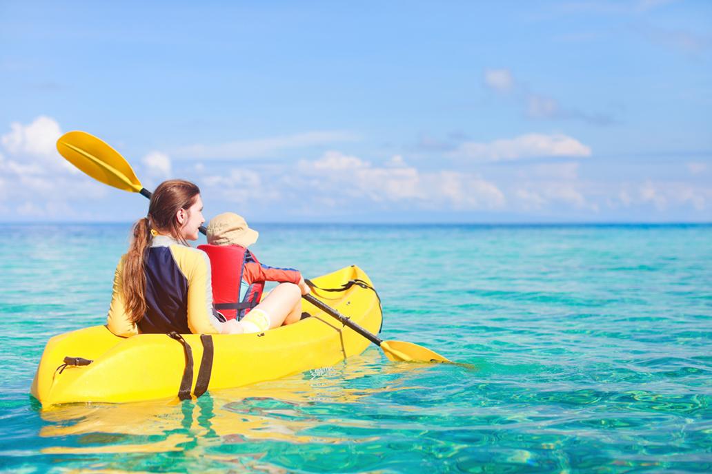 Kayak - Côte d'Azur